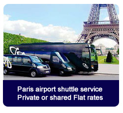 Book your taxi to Paris city center from Roissy CDG, Orly or Beauvais online now